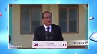 Francois Hollande l'anglais et la géographie