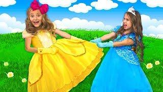 Sasha and friends had a playdate and want the same dress