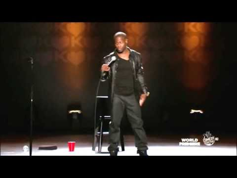 Kevin Hart- How Shaq Falls! Seriously Funny!