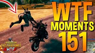 PUBG WTF Funny Moments Highlights Ep 151 (playerunknown