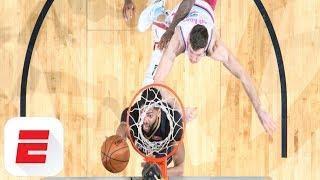 Anthony Davis and Jonas Valanciunas show off massive dunks against Heat and Raptors | ESPN