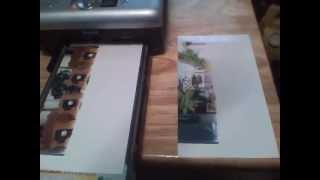 Repair Kodak Easyshare Series 3 Printer Dock Half Print Problem