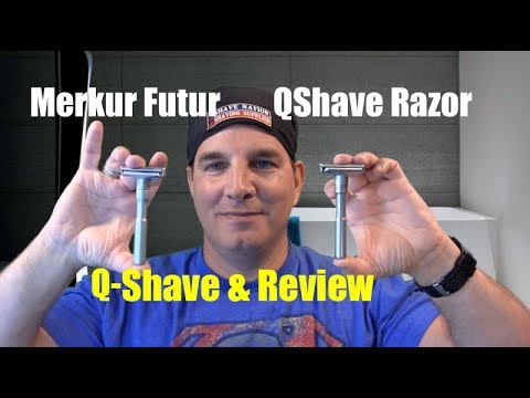 QShave Adjustable Safety Razor Review and Shave