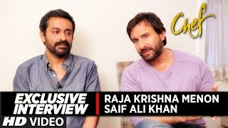 Exclusive Interview with Team CHEF | Saif Ali Khan Interview