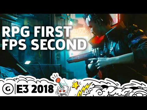 Cyberpunk 2077 Story Open World And First Person Gameplay Details E3 2018