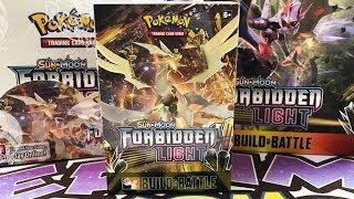 Let's Get Ready For The Pokemon Forbidden Light Prerelease!