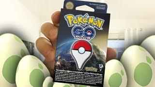 Pokemon Go på Svenska - Unboxing av Pokemon Go Plus & Öppnar 9st ägg