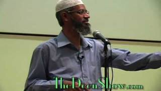Q&A session for non Muslims with Dr. Bilal Philips and Dr. Zakir Naik