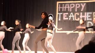 Teachers' Day 2015 Group Dance Performance  - NIFT Hyderabad
