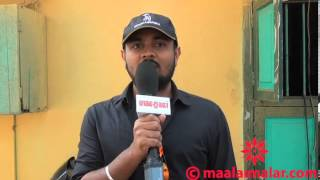 AaivuKoodam Movie Hot Song Shooting Spot by video.maalaimalar.com