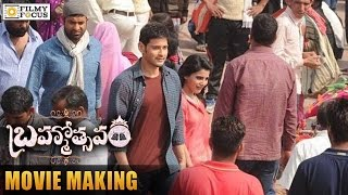 Brahmotsavam Movie Making Video | Mahesh Babu | Kajal Aggarwal | Samantha | Filmyfocus.com
