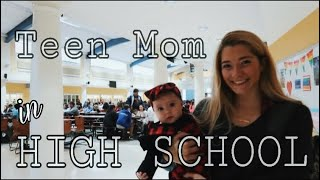 Bringing my baby to class with me!! // TEEN MOM HIGH SCHOOL VLOGS