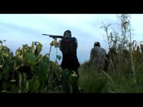 Caza de palomas en Argentina. Grupo Vergara. 14 02 09. Parte 1