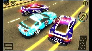 Police Car vs Gangster Escape / Police Chase Games / Android Gameplay Video