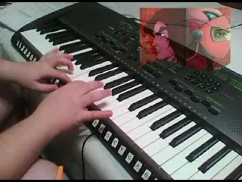 Grendizer opening on piano