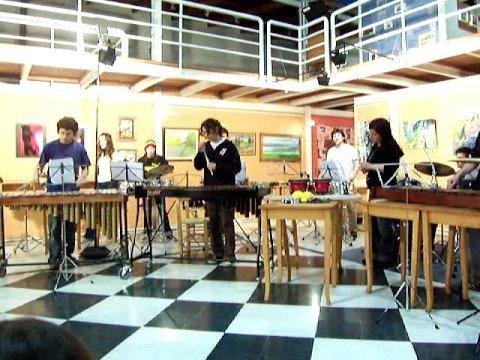 Sabre Dance - Ensamble de Percusion del Conservatorio Ts As