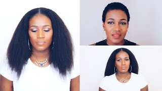 Clip -Ins That Blends Perfectly With Short 4C Hair |Betterlength