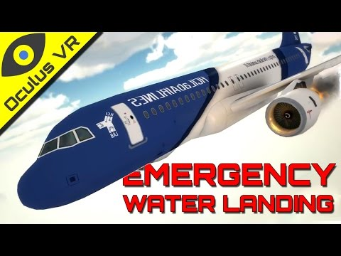 Emergency Water Landing VR ■ Oculus Rift DK2 Educational Experience