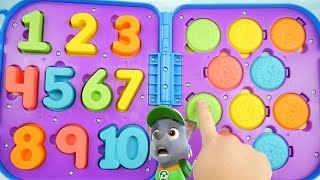 Best Learning Colors & Counting Sesame Street Toy Educational Video 3D Stop Motion