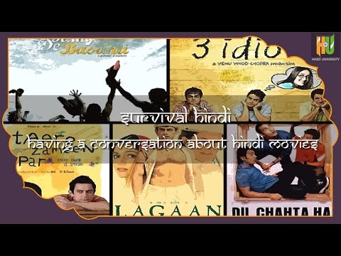 Survival Hindi - Having a conversation about Hindi Movies