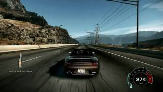 NFS Hot Pursuit: Porsche Turbo S (Benny Benassi-Cinema)
