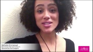 Nathalie Emmanuel -  Best Actress at National Film Awards 2016