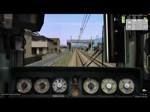 BVE 新公開された107系で運転! 上越線 高崎ー新前橋