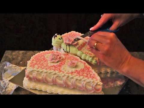 Como decorar un pastel de Mariposa de un pastel de Corazon guia pasa a pasa
