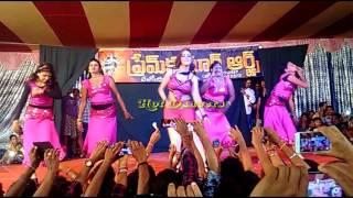 Prem kumar arts - Super hit Telengana songs - Folk songs - Andhra dancer chandini