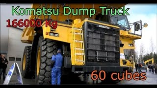 Komatsu Dump Truck HD 785 -World's Largest Truck