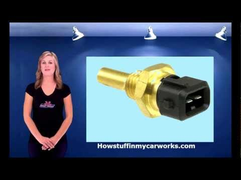 How the coolant temperature sensor works by Howstuffinmycarworks.com