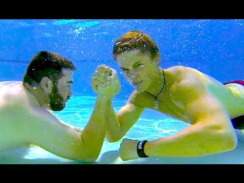 UNDERWATER ARM WRESTLING