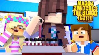 Minecraft EVIL STEPMOM SWAPS THE BLOOD TESTS???