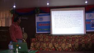 Bioethics and Global health with reference to Hand washing in Children - Prof. M.Selvanayagam, AUSN