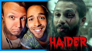 Haider Official Trailer 1 (2014) - Drama Movie HD | Trailer Reaction by Robin and Jesper