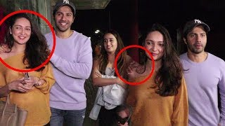 Varun Dhawan CAUGHT Flirting With Girlfriend Natasha Dalal & Her Friend At Juhu PVR | Bollywood 2018