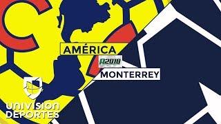 América 3-0 Monterrey – RESUMEN Y GOLES – Apertura 2018 Liga MX