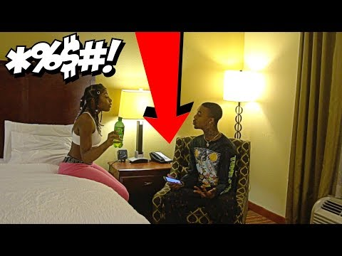 TEXTING ANOTHER GIRL PRANK ON GIRLFRIEND BACKFIRES! (ALMOST BROKE UP!)😂😱
