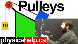 Physics Pulley Systems Part 1 Dynamics Lesson