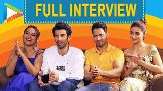 EXCLUSIVE: Varun, Alia, Sonakhi & Aditya On Kalank, SRK, Salman, Ranbir & Madhuri