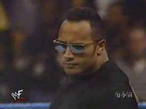 the rock guest referee