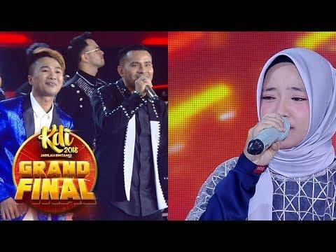 Hanya Di MNCTV!! Judika Dan Nisa Sabyan Nyanyikan Lagu Dangdut - Grand Final KDI (210)
