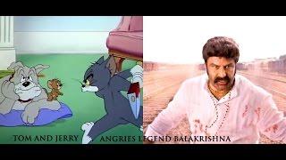 Tom and Jerry angries Legend Balakrishna (Telugu)