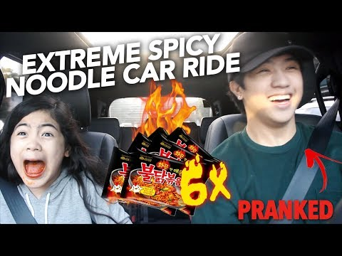 Xxx Mp4 6X EXTREME SPICY NOODLE CAR RIDE I CRIED Ranz And Niana 3gp Sex