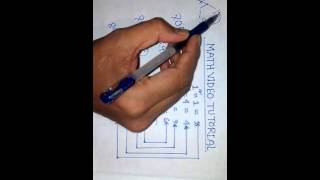 Rubel's math video tutorial square root in few second-2 in Bangla