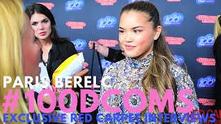 "Paris Berelc #InvisibleSister interviewed at VIP Screening for ""Adventures in Babysitting"" #100DCOMs"