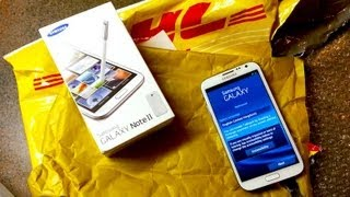 Samsung Galaxy Note II Unboxing | Pocketnow