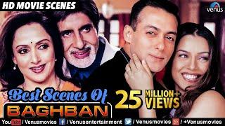 Best Scenes Of Baghban | Hindi Movies | Amitabh Bachchan Movies | Best Bollywood Movie Scenes
