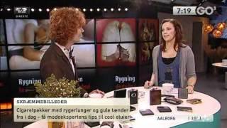 David K fortæller om cigarat etuier i GO' Morgen Danmark