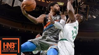 Oklahoma City Thunder vs Boston Celtics Full Game Highlights / March 20 / 2017-18 NBA Season